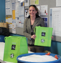 Kaela Paseka, Duncan Aviation Clothing Drive