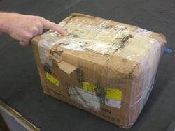 poor core return packaging