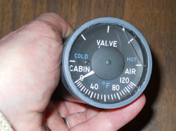 cracked cabin indicator