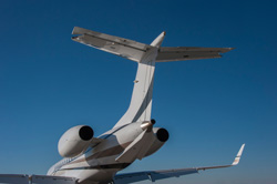 Duncan Aviation paint on a Legacy 600-Provo