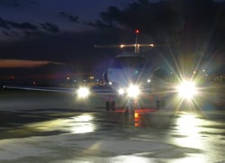 hawker boombeam landing lights