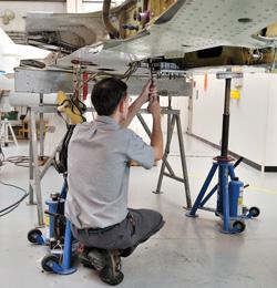Learjet Trunnion Fixture