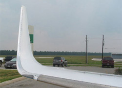 Hawker 800 series winglet