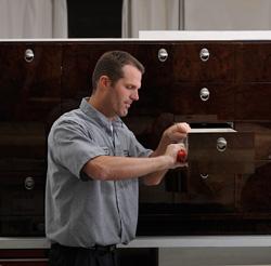 Proper adjustment of cabinet drawers