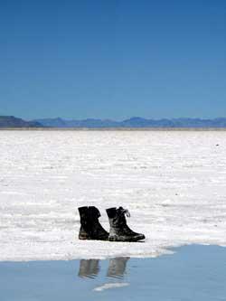 Benneville Salt Flats