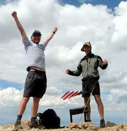 Mt. Nebo in Utah