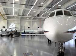 Duncan Aviation's new maitenance hangar