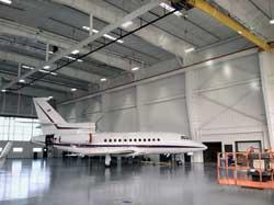 Duncan Aviation's new maitenance hangar