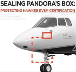 Hawker RVSM Certification