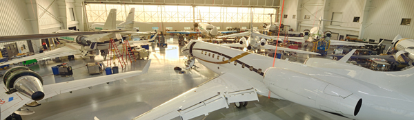 Duncan Aviation new business aircraft maintenance hangar
