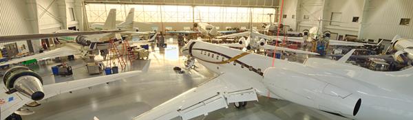 Duncan Aviation new business aircraft maintenance hangar