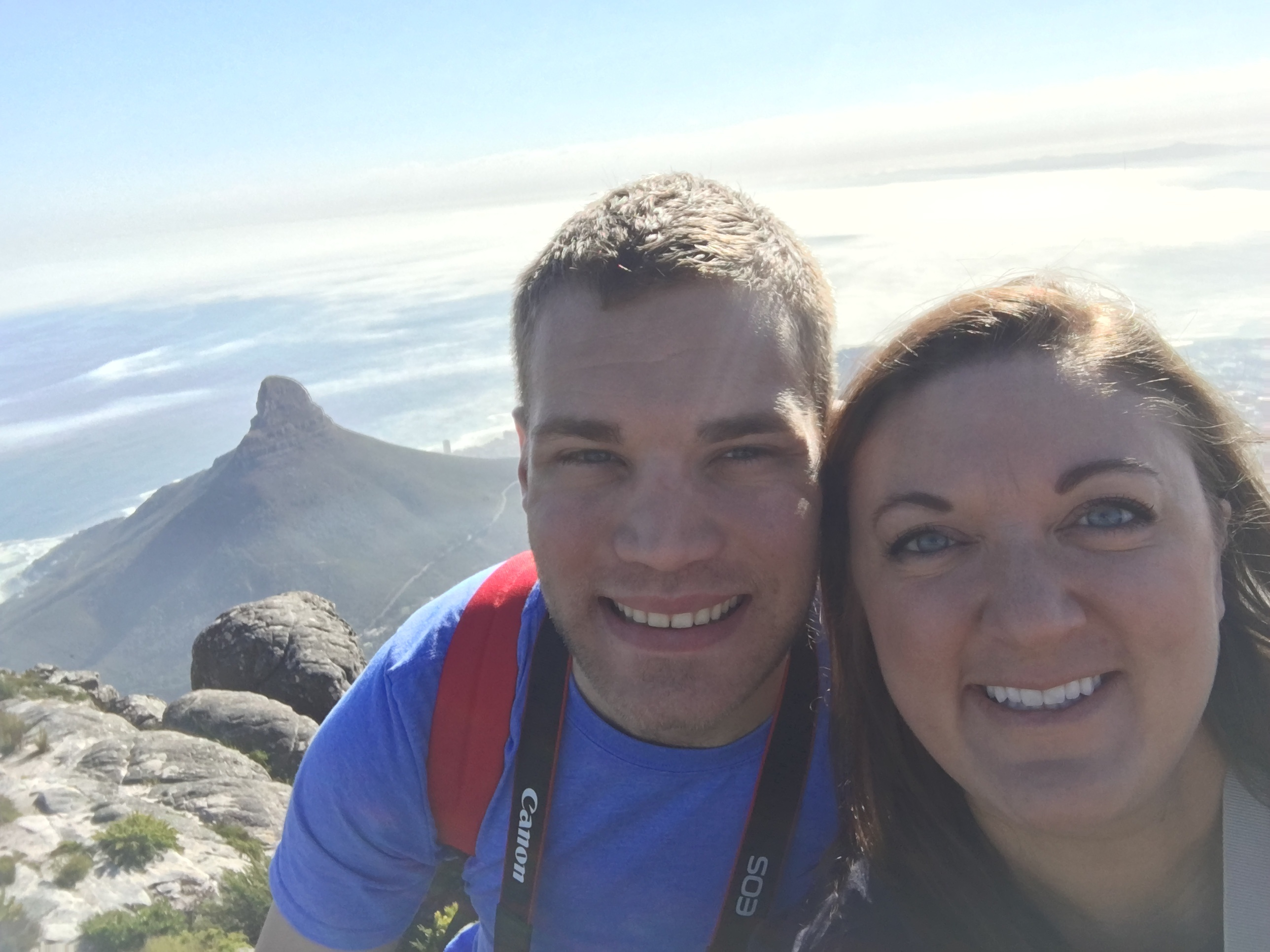 Devon and I on Table Mountain in Cape Town.jpg