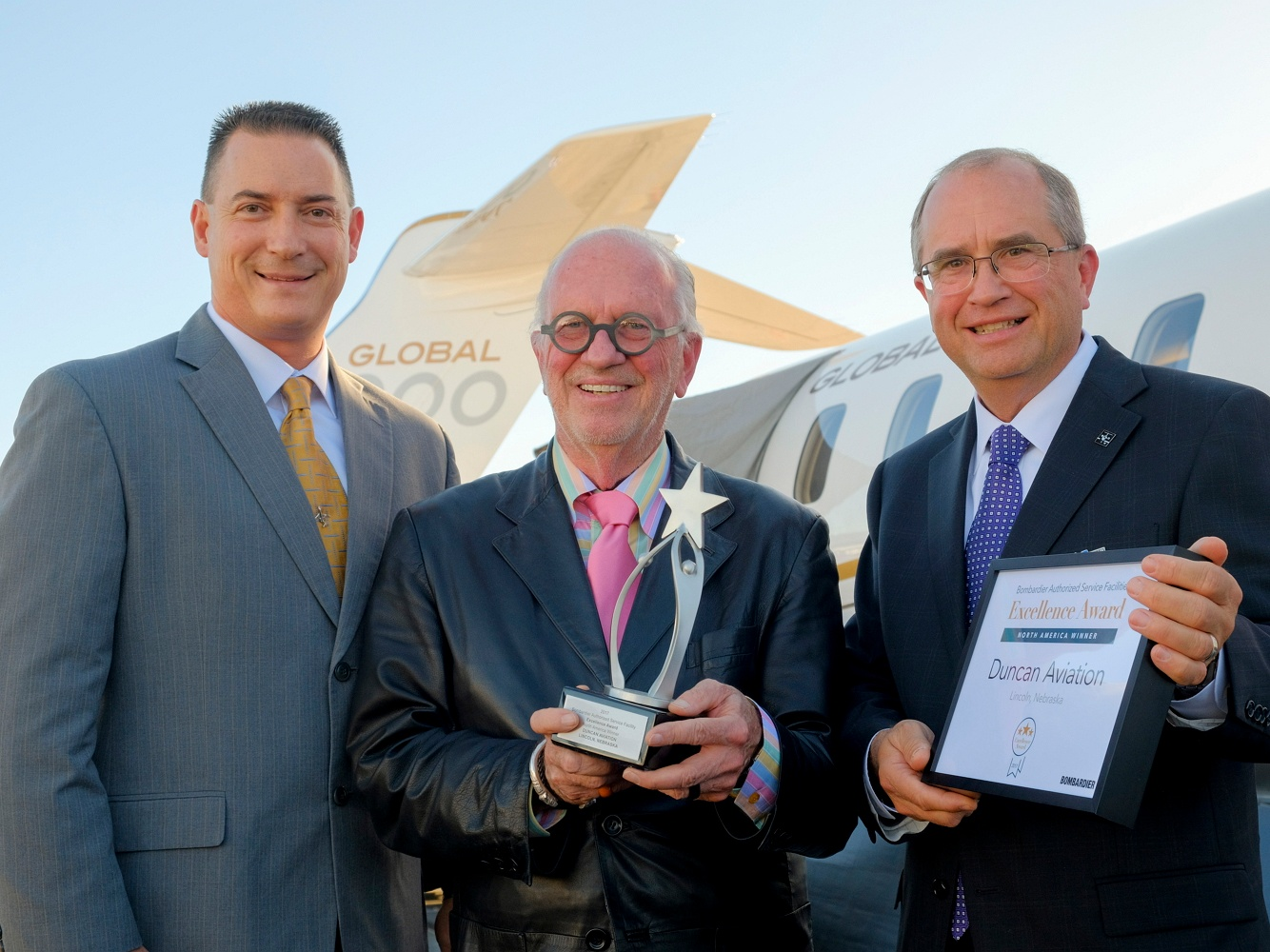 Bombardier Award at NBAA